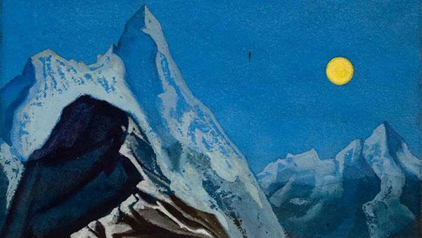 Nikolaj Rerih, Himalajski pejzaž