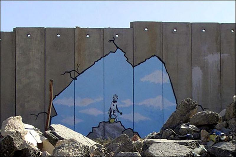 Palestina, Banksy