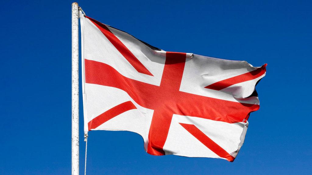 Britanska zastava bez škotske, foto: Stepan Popov/Getty Images, remix by Jason Reed