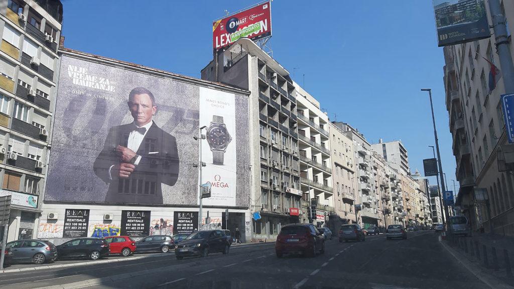 Nije vreme za umiranje, Brankova ulica u Beogradu, foto: Peščanik