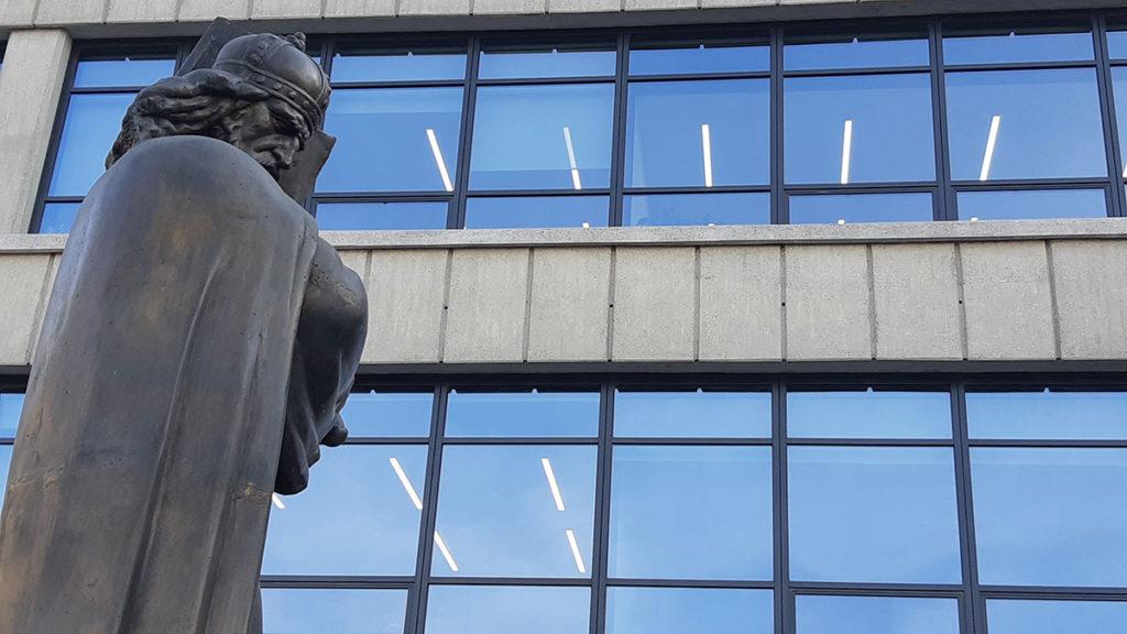 Dušanov zakonik, Palata pravde, foto: Peščanik