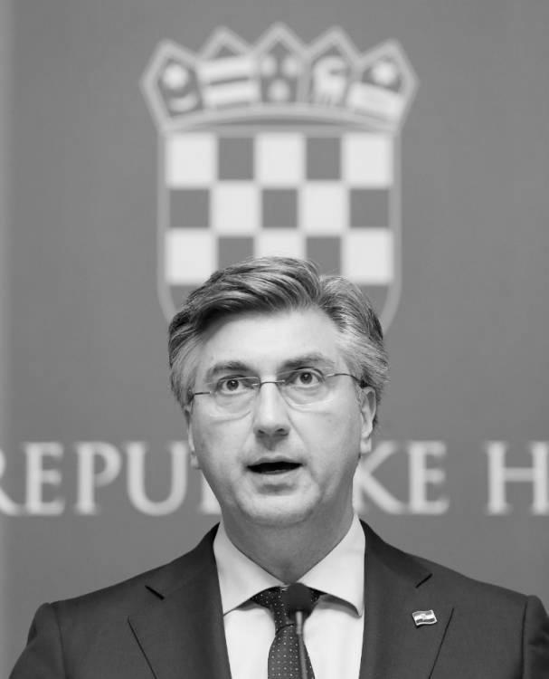 Andrej Plenković, foto: Dalibor Urukalović/PIXSELL