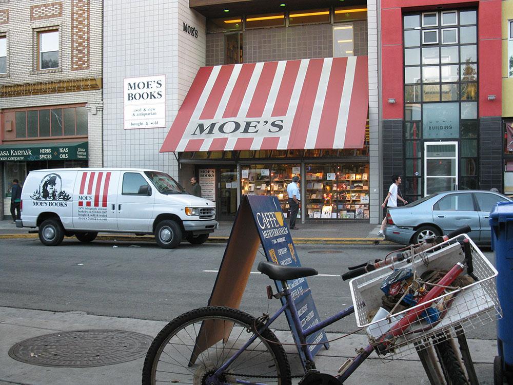 Moova knjižara u Berkliju, foto: Peščanik
