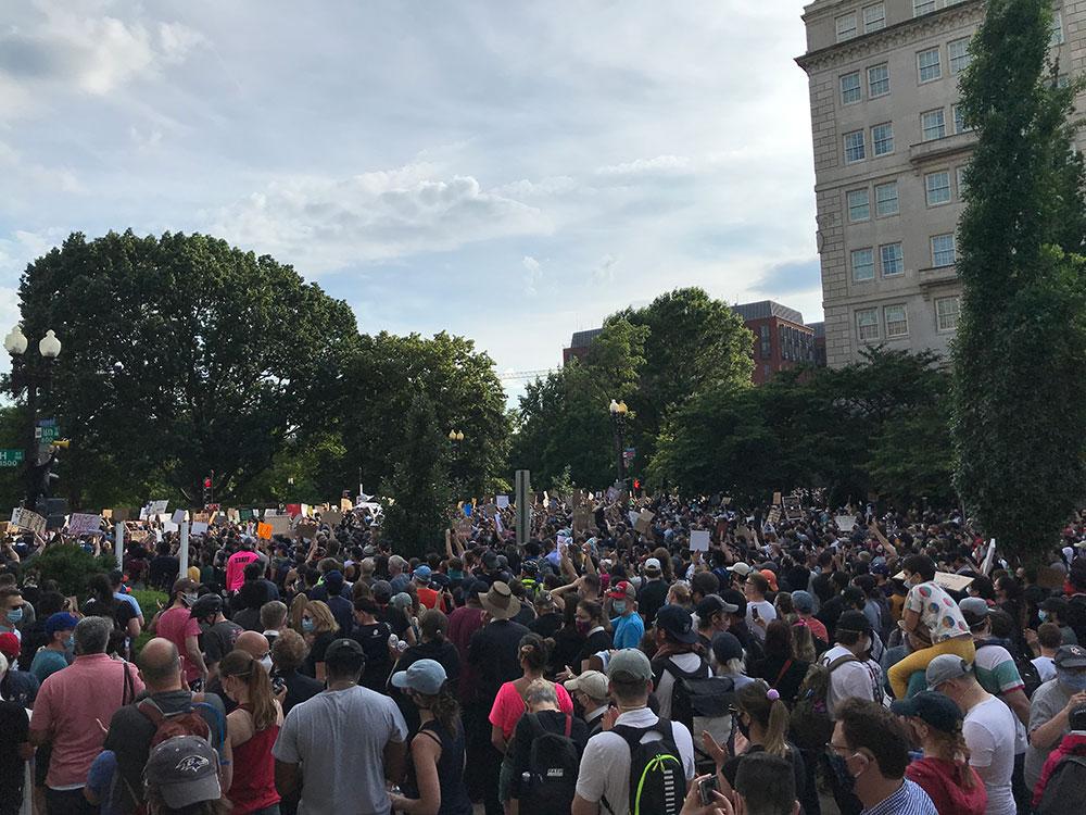 Protesti u Vašingtonu, foto: Sara Dević