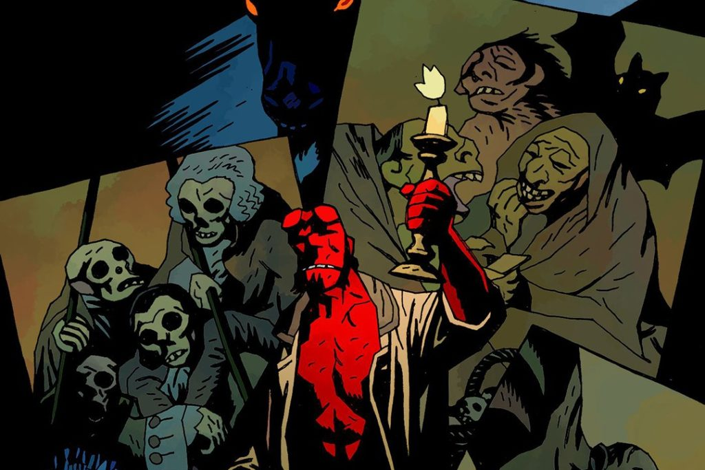 Crtež: Mike Mignola/Hellboy/Dark Horse Comics