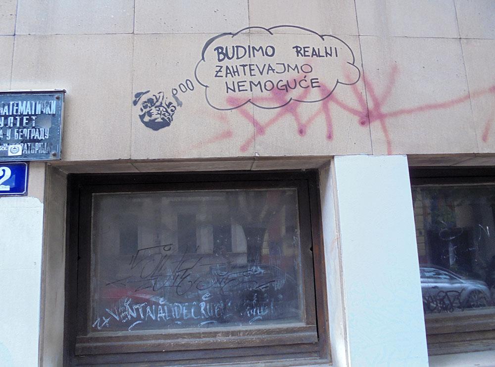 Grafit: Budimo realni, zahtevajmo nemoguće