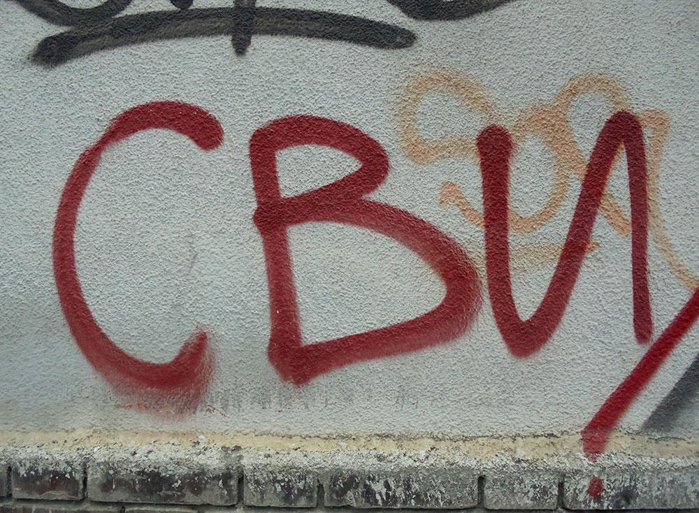 natpis na zidu: Svi
