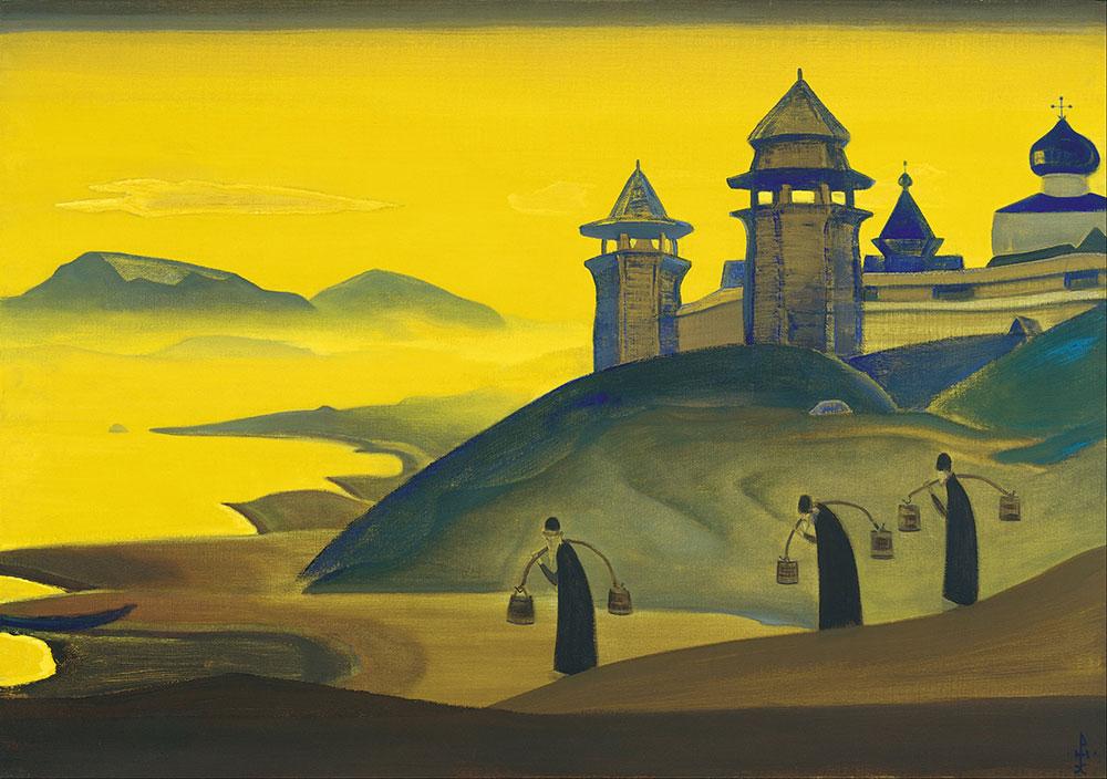 N. Rerih, I mi se trudimo, iz ciklusa Sancta, foto: Google Art Project/WP