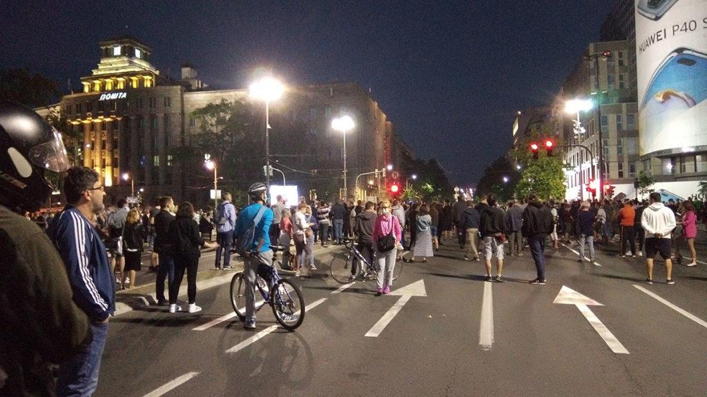 Protest u Beogradu 7. jula 2020.