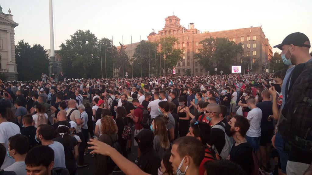 Protesti u Beogradu 8. jula