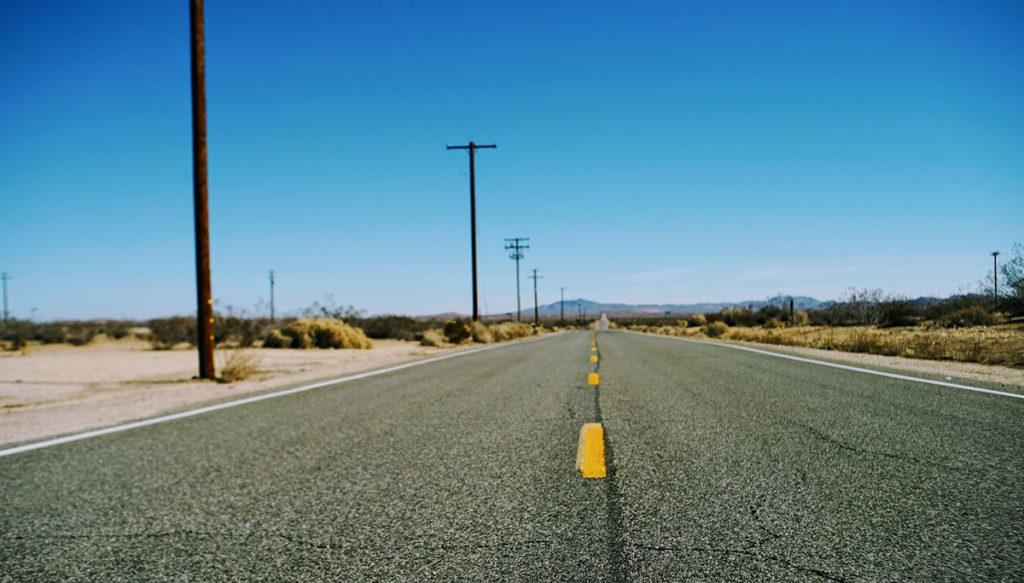 Kolovoz kroz američku pustinju