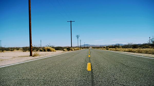 Put kroz američku pustinju