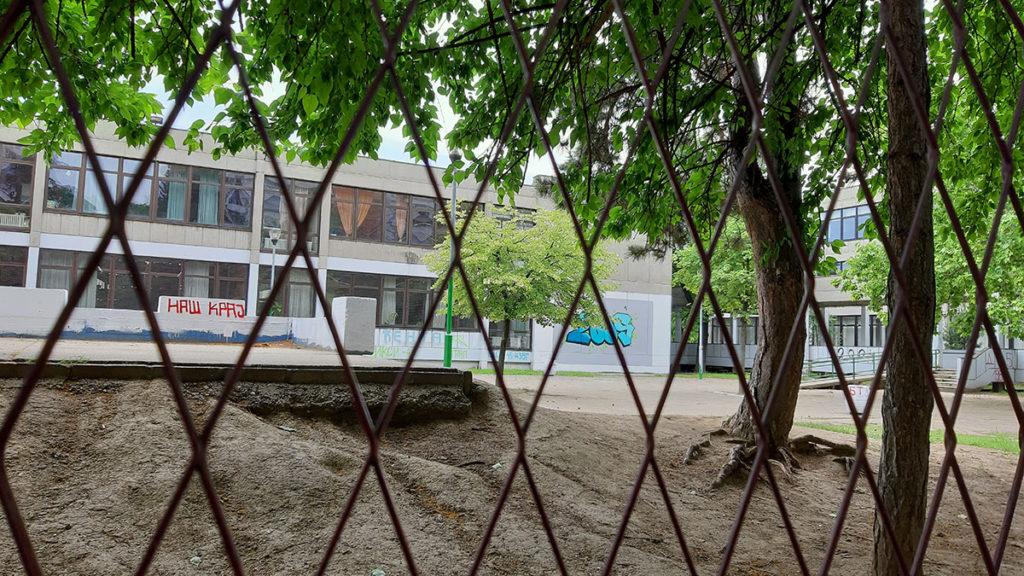 zgrada jedne novobeogradske škole