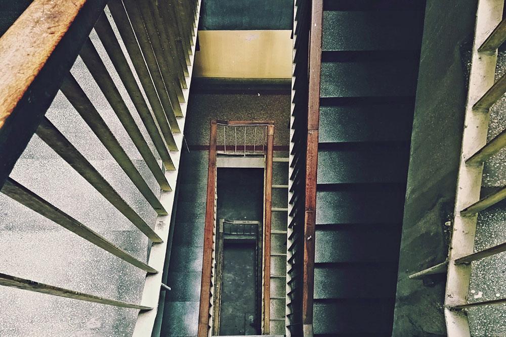 Stepenište u zgradi