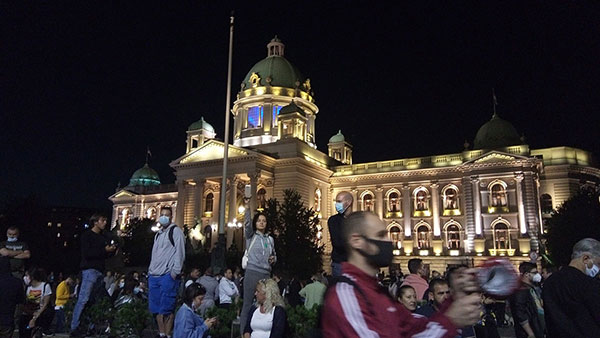 Protesti u Beogradu 7. jula