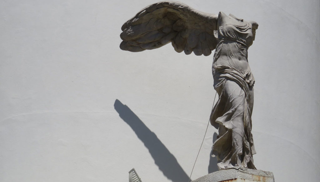 Skulptura boginje Nike