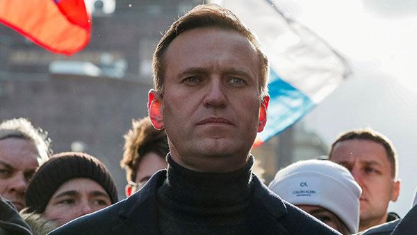 Aleksej Navaljni, foto: Sky News