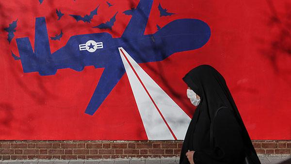 Teheran, mural na ogradi bivše američke ambasade, foto: Konstantin Novaković