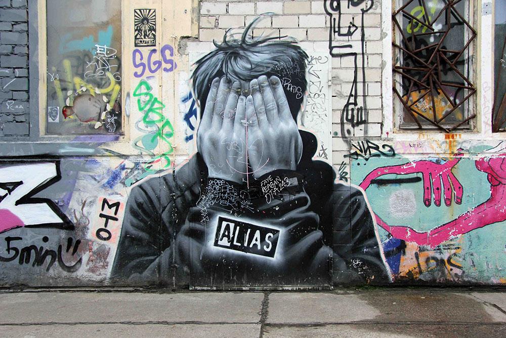 Berlin, street art by MTO