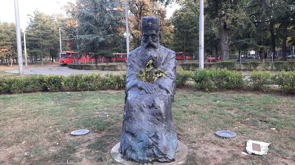 Spomenik patrijarhu Pavlu na Tašmajdanu