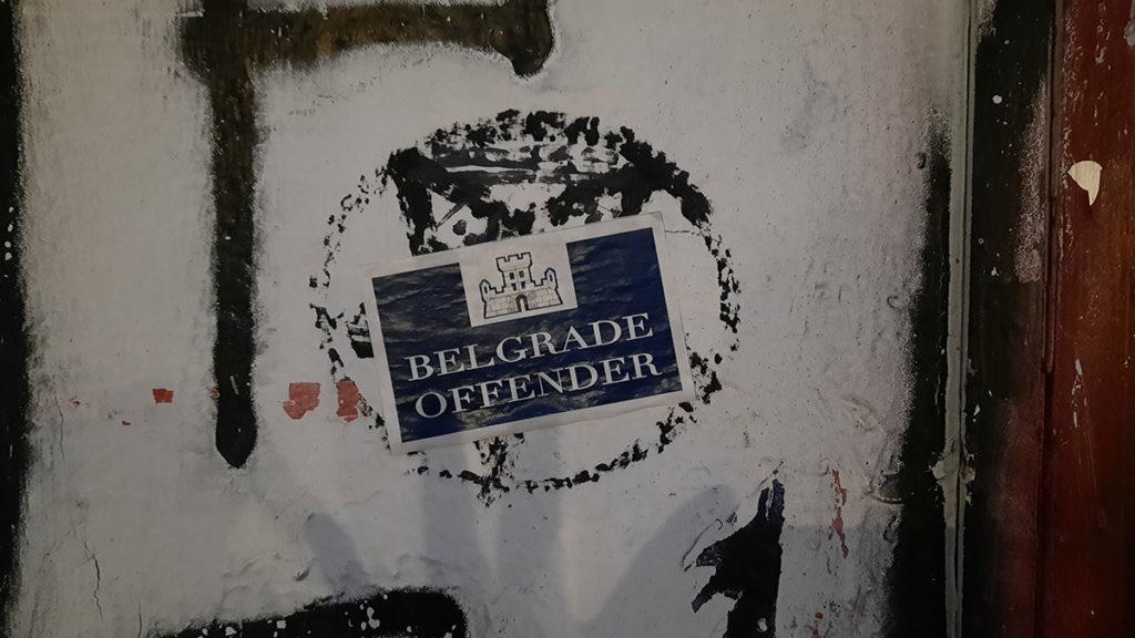 Nalepnica: Belgrade Offender