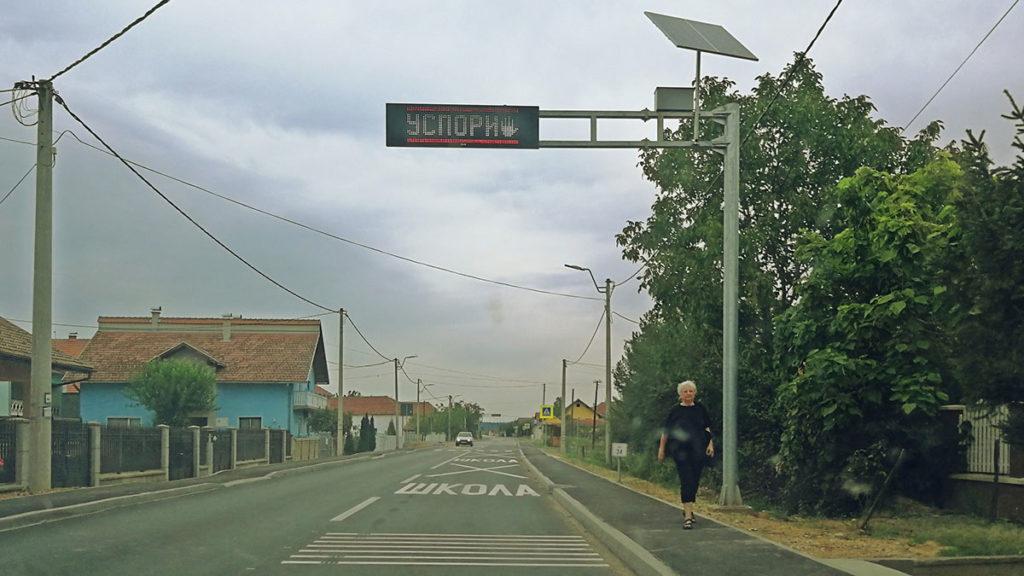 pešački prelaz ispred škole