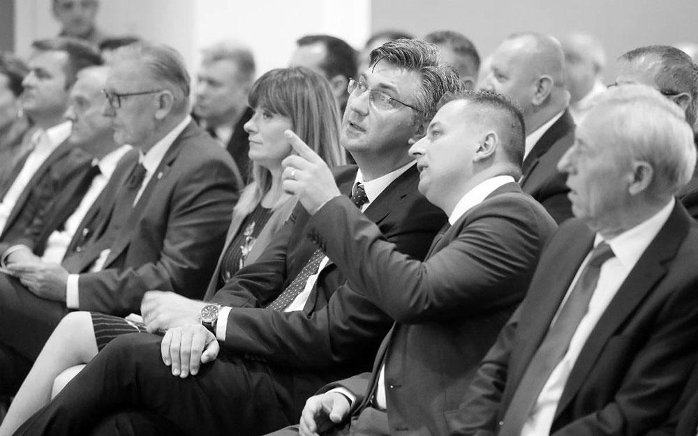 Andrej Plenković i Mato Čičak 2018. u Rugvici, foto: Igor Kralj/PIXSELL