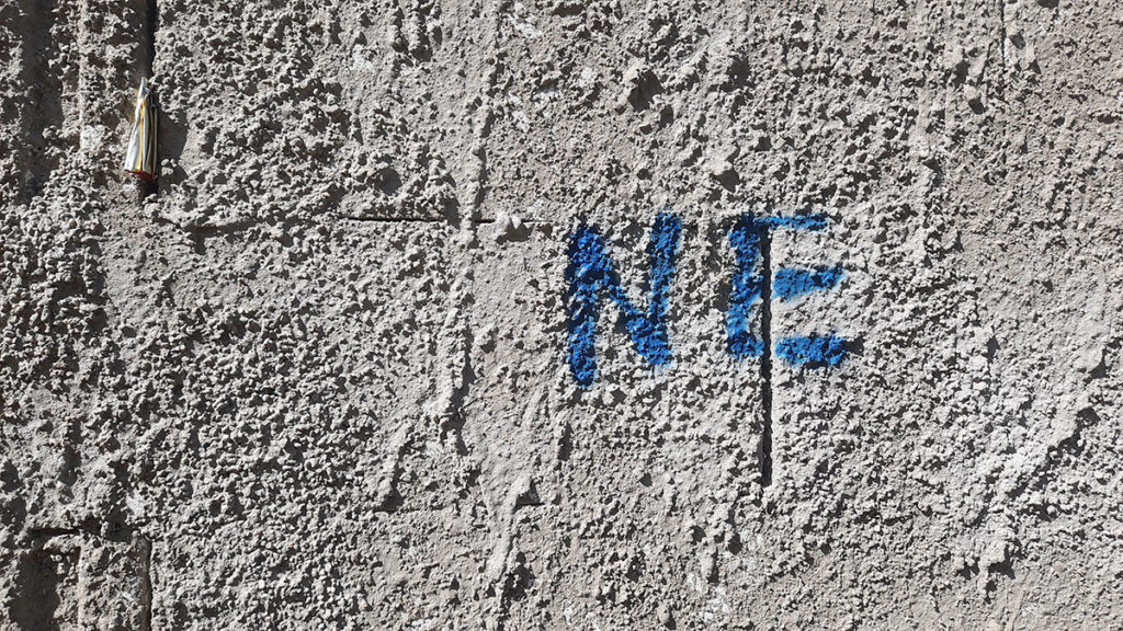 Ne, napisano na zidu