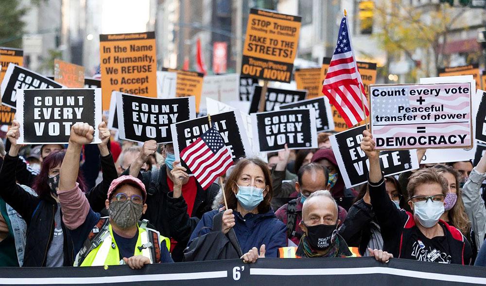5. avenija u Njujorku 4. novembra 2020, foto: Justin Lane/EPA