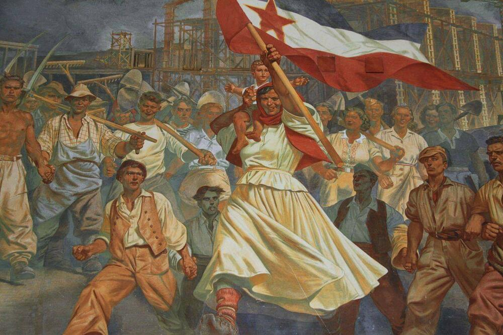 """Majka Jugoslavija"", Slavko Pengov (1947), foto: privatna arhiva"