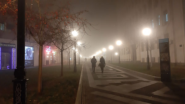 Beograd u magli