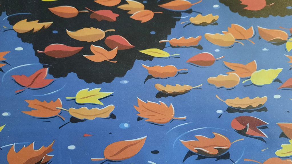 ilustracija jesenjeg lišća