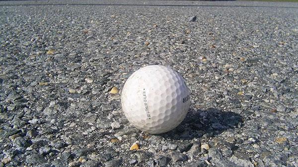loptica za golf