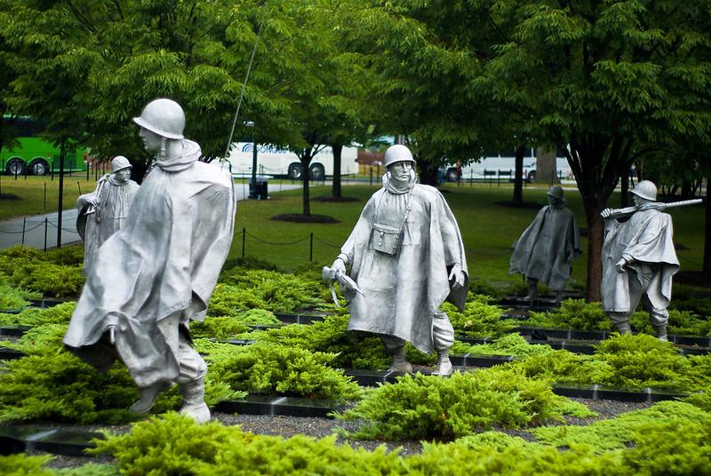 Korean War Memorial, foto: Flickr