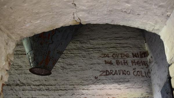 Natpis na zidu: Ja ovde ništa ne bih menjao, Zdravko Čolić