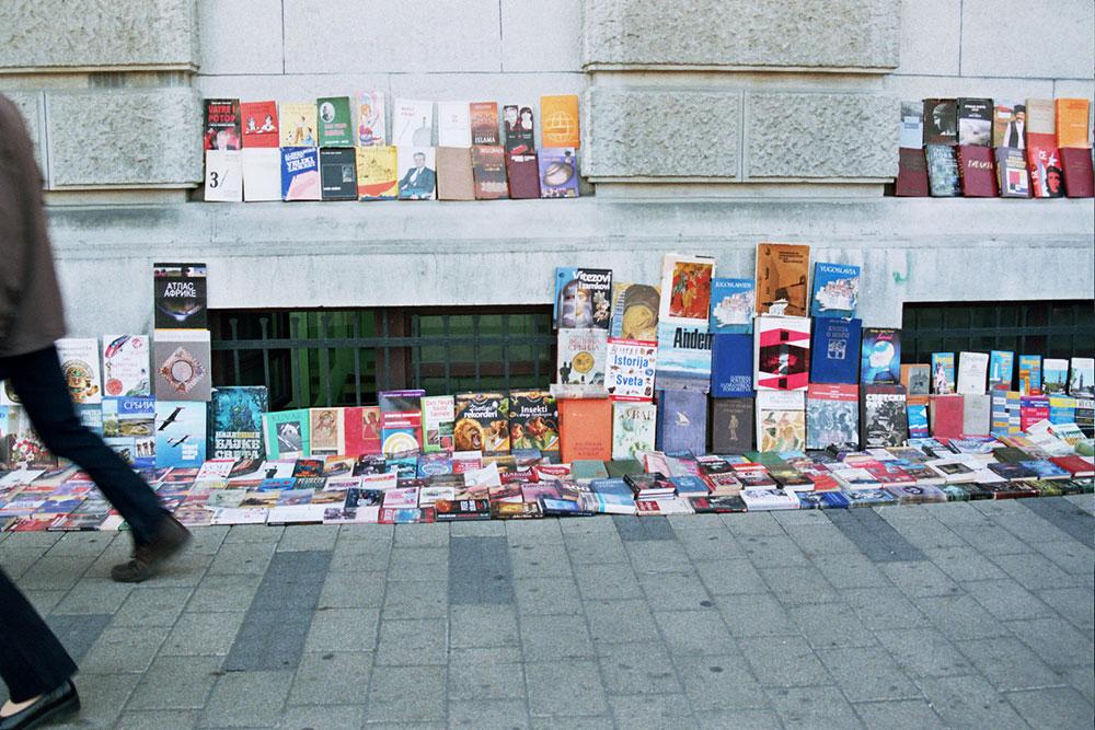 Knjige na prodaju u Knez Mihajlovoj