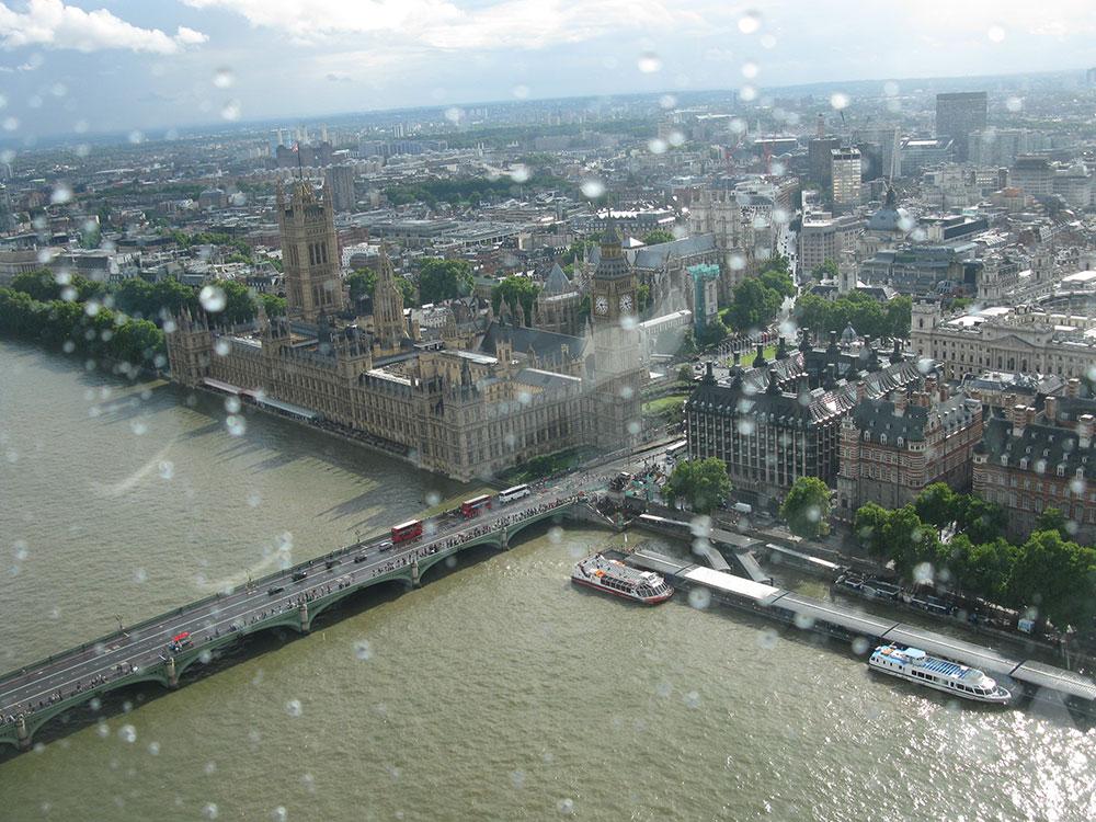 London fotografisan iz aviona