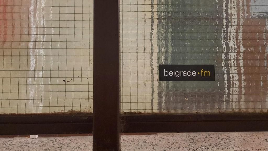 Nalepnica: Beograd.fm