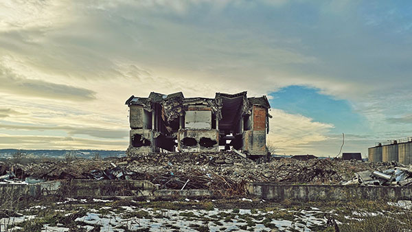 Urušena zgrada Krajina vina, Negotin
