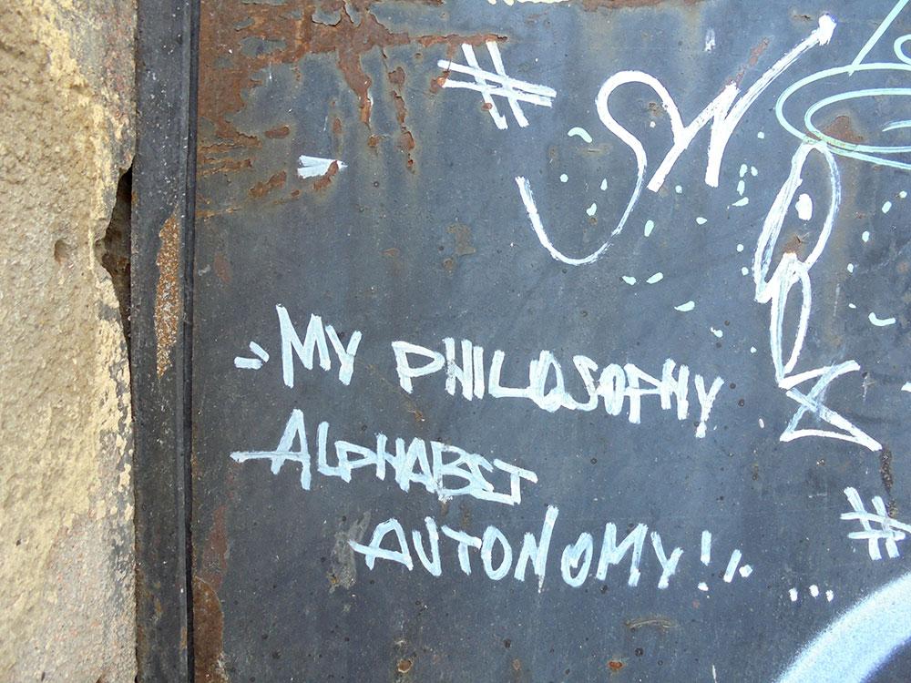 Moja filozofija – autonomija alfabeta, foto: Slavica Miletić