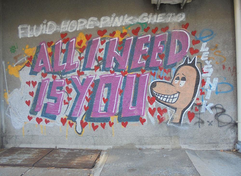 Pink ghetto, All I need is you (Ružičasti geto, Ti si sve što mi treba), foto: Slavica Miletić