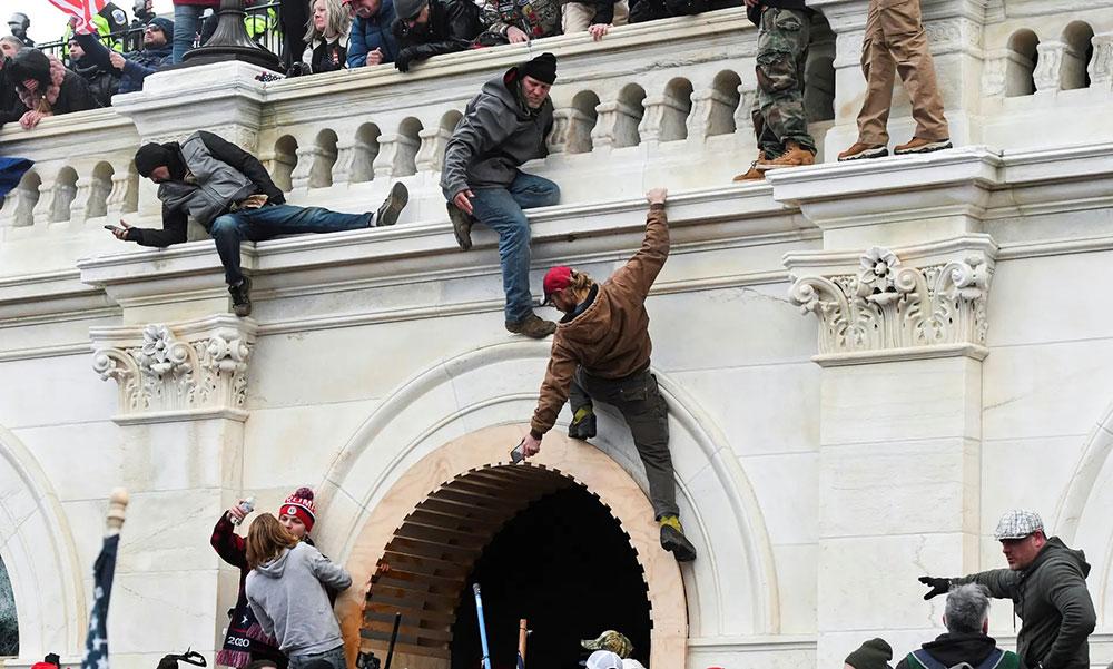 Kapitol 6. januara 2021, foto: Stephanie Keith/Reuters