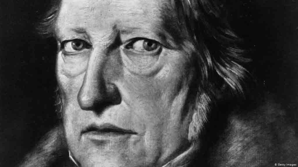 Portret Hegela, Jacob Schlesinger