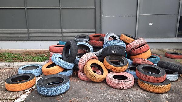 stare automobilske gume