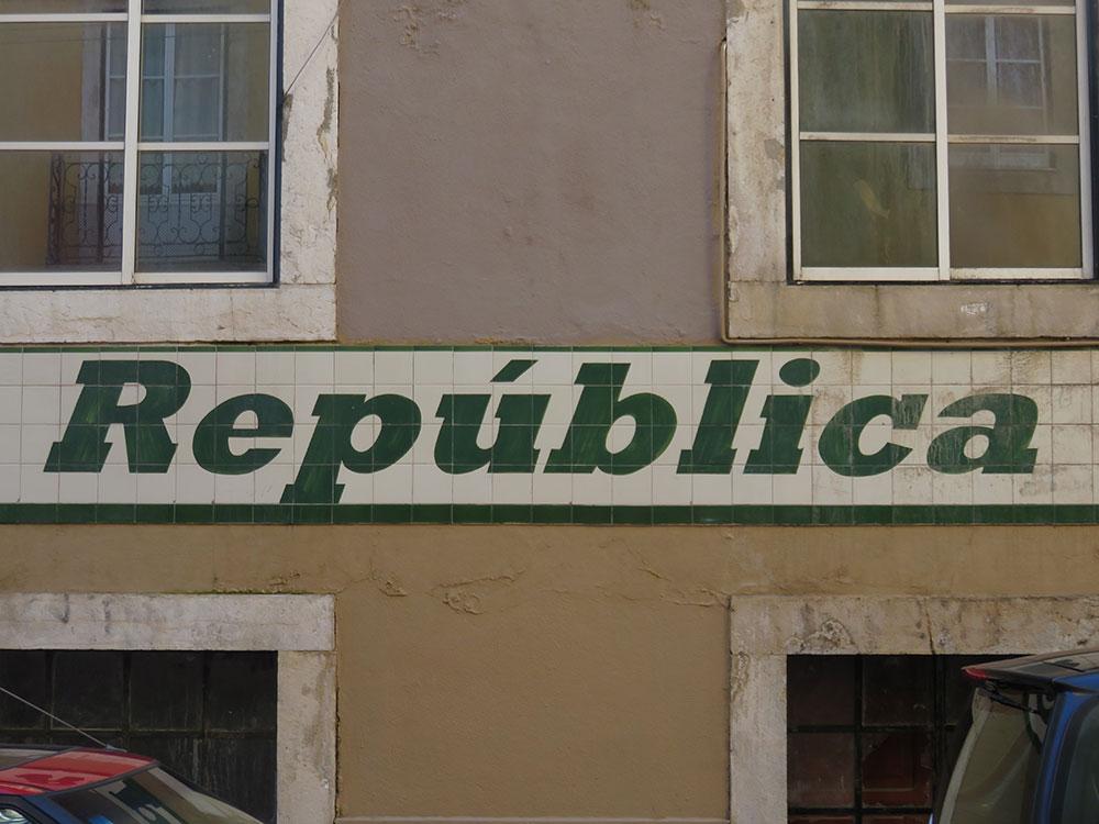 Natpis: Republica