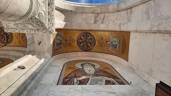 Sveti Simeon, hram Svetog Save
