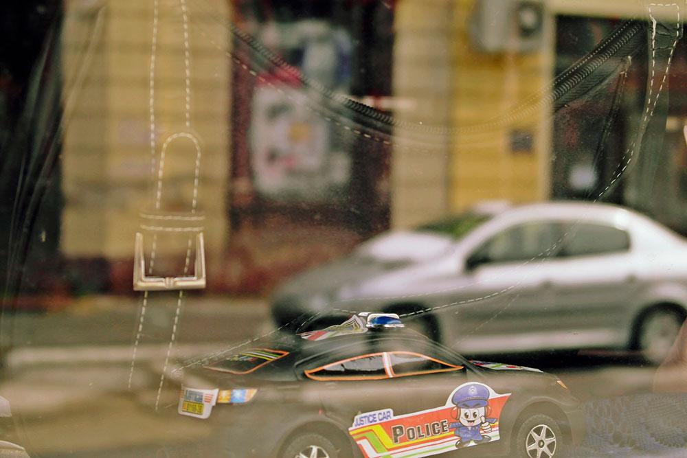 igračka - policajski automobil