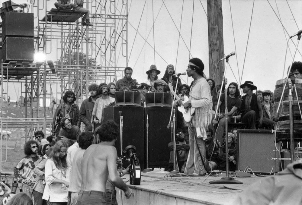Hendrix u Woodstocku, foto: Larry C. Morris/NYT/Redux