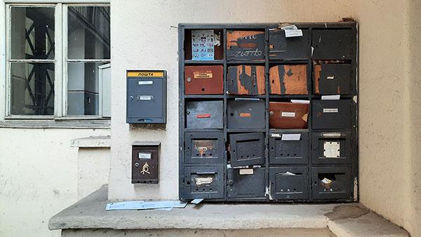 poštanski sandučići