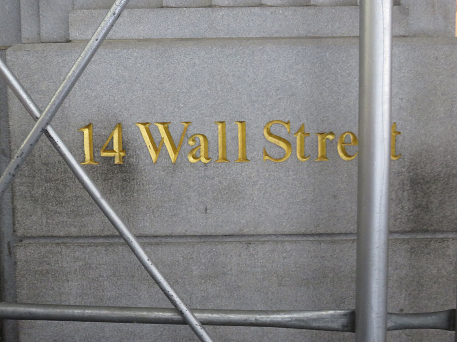 Adresa: 14 Wall Street